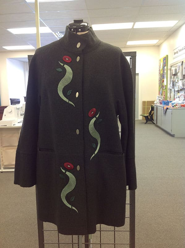 Couture Machine Embroidery