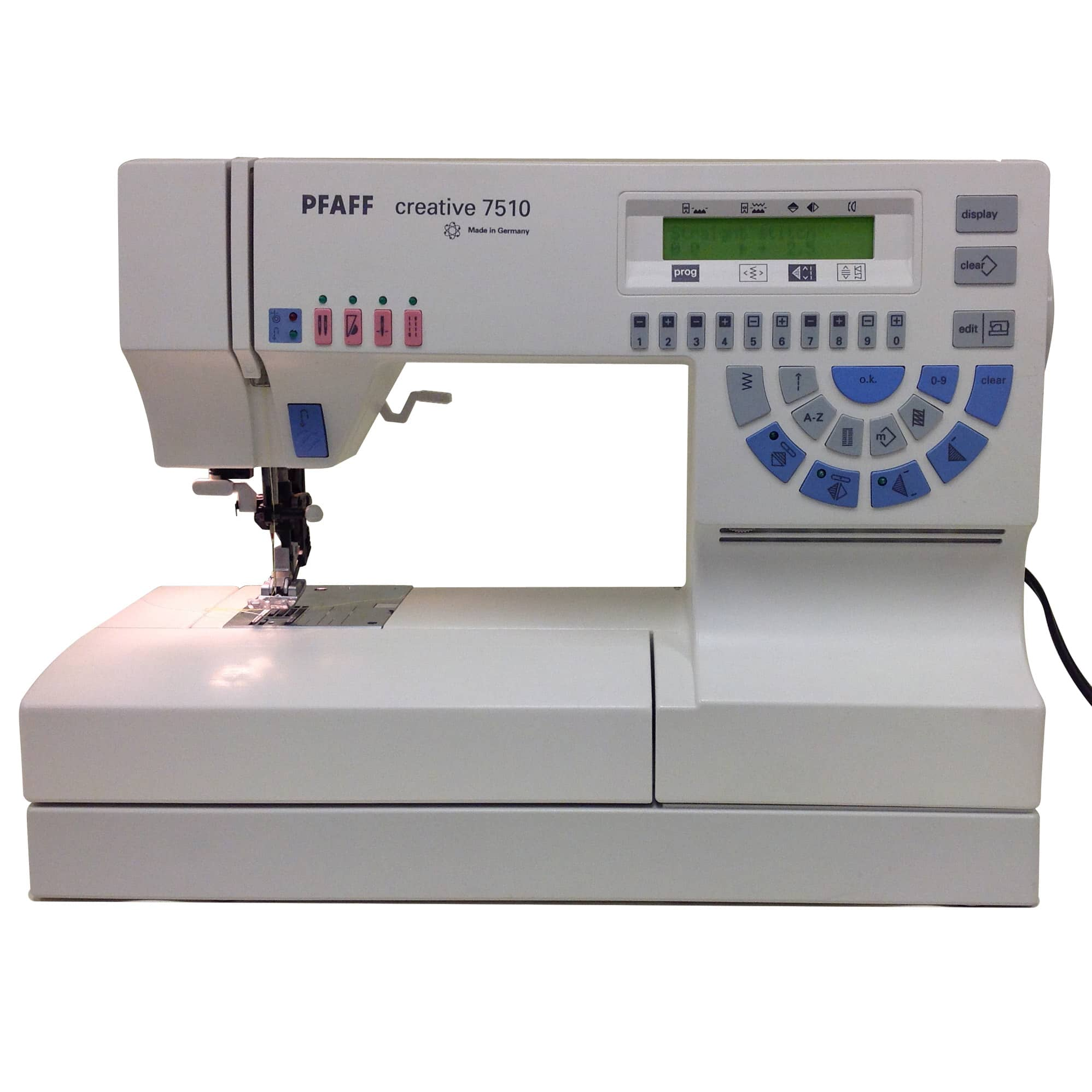 Pfaff Creative 7510 With Idt Reconditioned With Warranty